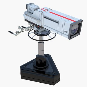 3D Low Poly Studio Camera