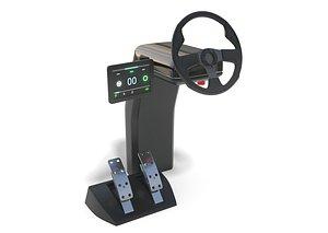3D Vehicle Control Panel