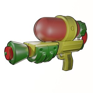 3D model Splatoon Splattershot