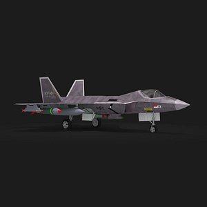 kf-21 korean jet figher 3D