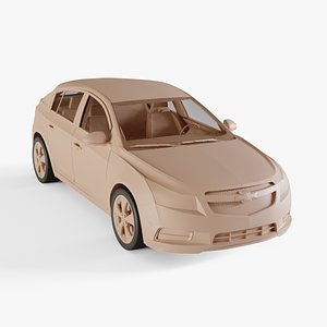 chevrolet cruze hatchback model