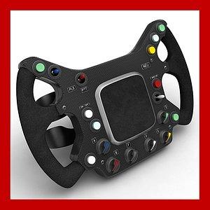 3D generic f1 steering wheel