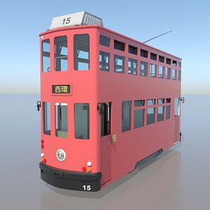3D Hong Kong Double Decker