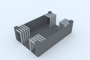 stand 10 3D model