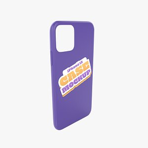 3D iphone 12 Case 4