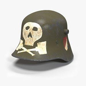 wwi helmet 3D model