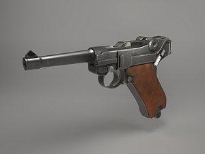 Gun Luger «Parabellum» 3D