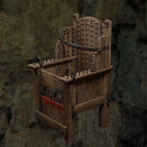 3D Torture chair