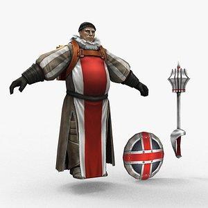 Nolan Fat Man 3D model