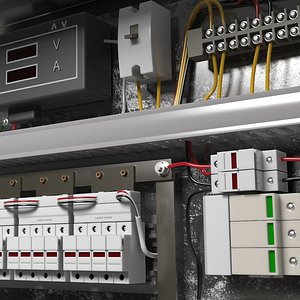 3D panel board electric
