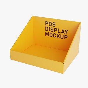 3D model cardboard pos