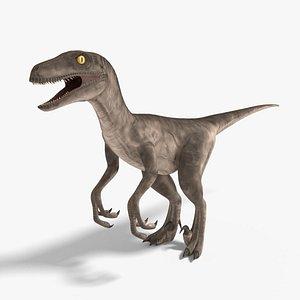 velociraptor blender v-multi model