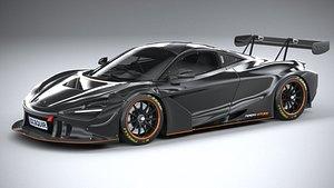 McLaren 720S GT3X 2021 model