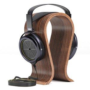 3D stax sr-009 bk headphone model