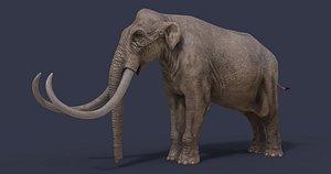 3D model animal dinosaur