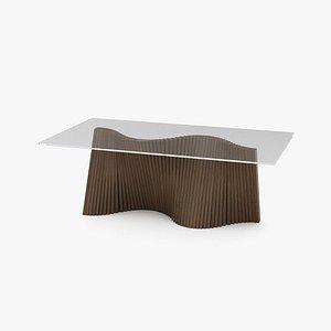 3D Kenneth Cobonpue Wave Dining Table model