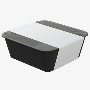 mockup food box 3D model