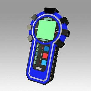 3D model Star Trek Enterprise MACO Scanner Hero prop