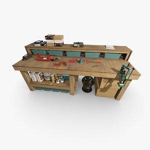 3D reloading scale press model