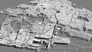 Citycape  Hague Netherlands 3D model