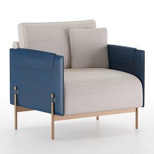 aston armchair 3D