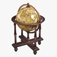 Stylized Medieval Globe