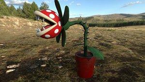 Carnivorous plant 2021 3D model