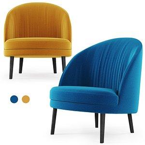 3D blue yellow