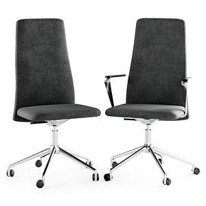 3D vela swivel chair model