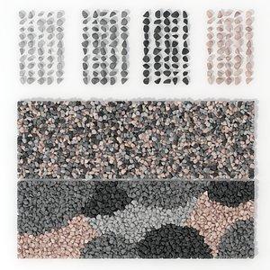 Gravel small crumb decor n2 3D