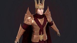 Dragon King Game Ready PBR 3D model