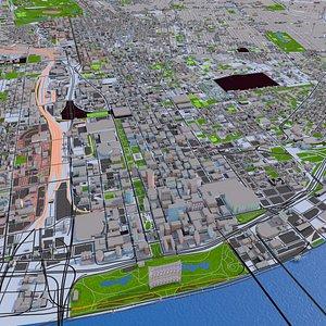 St Louis City USA 2021 3D model