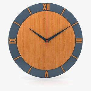Wall Clock 3 3D model