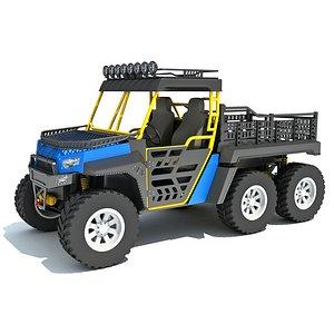 UTV Utility Terrain Vehicle 3D model
