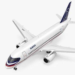 Sukhoi Superjet 100 95lr 3D model