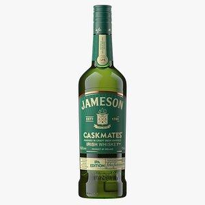 Jameson IPA Whiskey Bottle 3D model