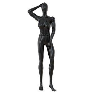 3D Female Black Faceless Mannequin 84