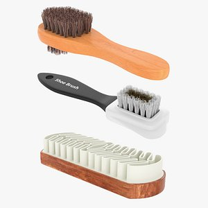 3D cleaning brushes shoe