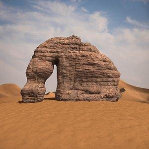 3D monuments elephant