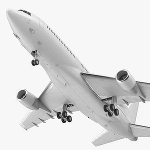 Lockheed L1011 TriStar Rigged 3D model