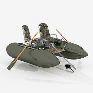 3D Catamaran two seets