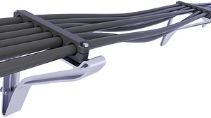supporting cable 3D model