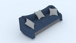 sofa furniture seating 3D model
