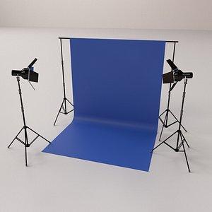 3D model Photography Studio
