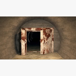 3D Shelter tunnel 07