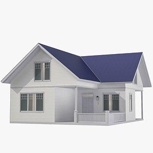 Family House 05 3D