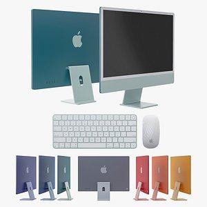 Apple iMac 2021 3D model