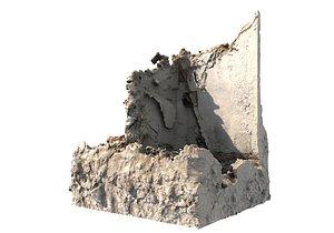 Concrete Rubble1 3D model