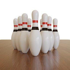 bowling pins pbr model
