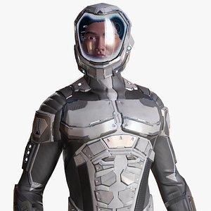 Sci-Fi Suit Male model